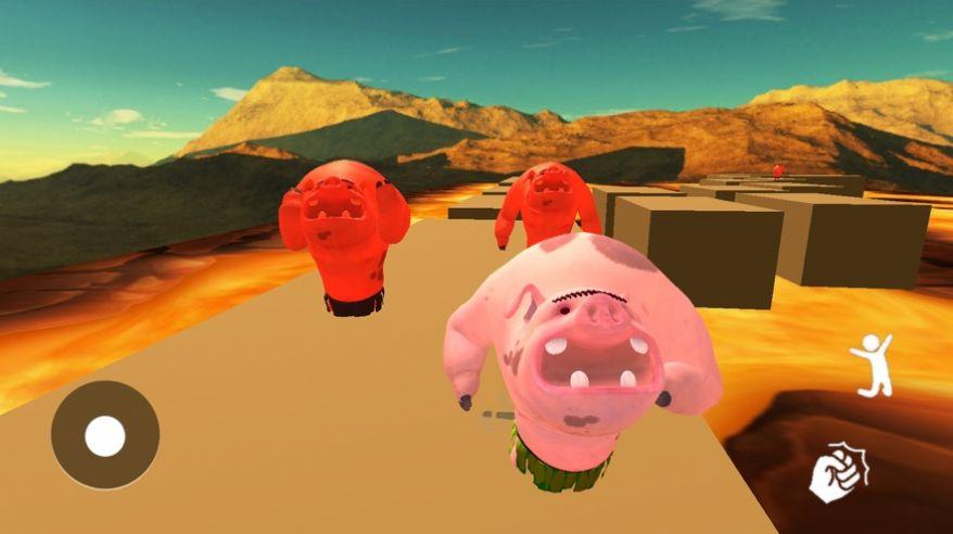 邪恶的小猪无敌版