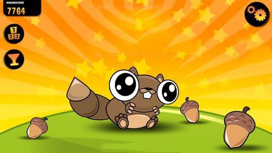 小松鼠收集松子无敌版