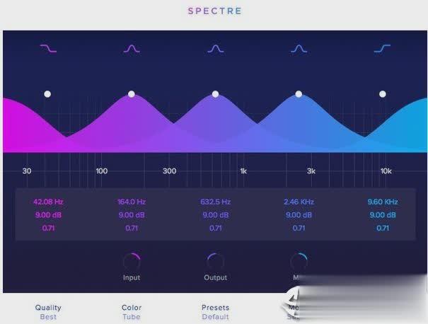Wavesfactory Spectre软件截图
