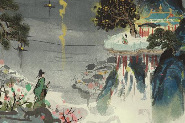 江南百景图手游奇怪的许愿池位置介绍